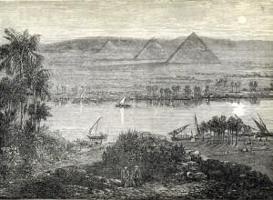 From 'La terra del Cristo. Viaggio in Oriente' 1881