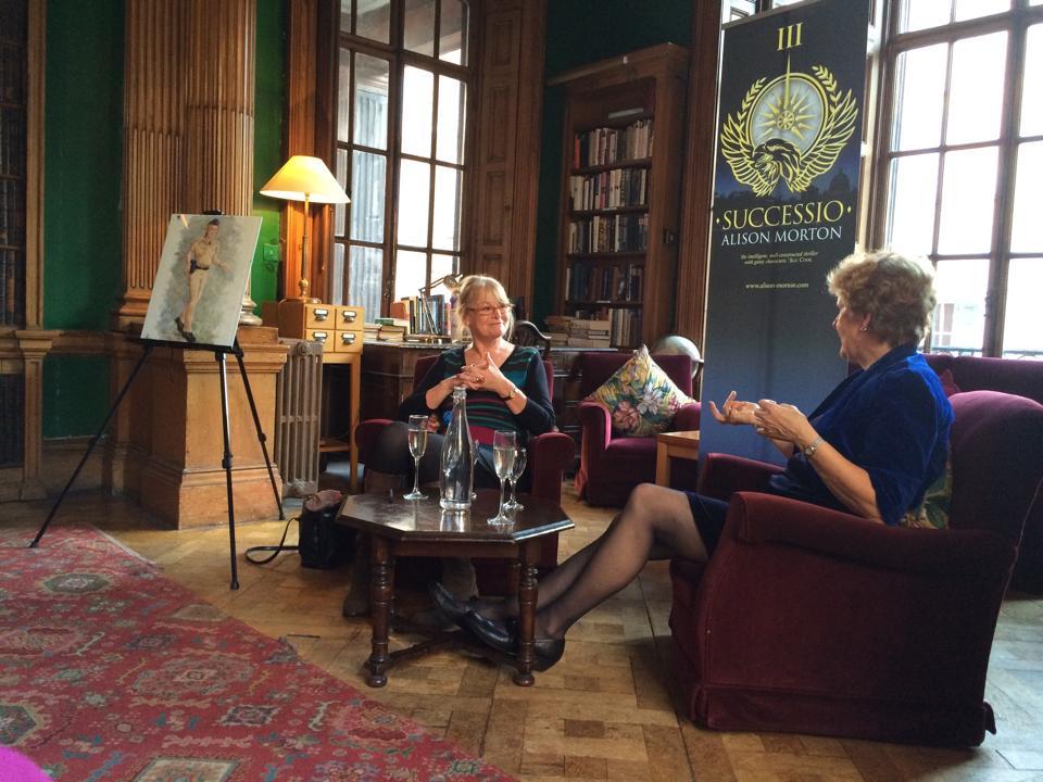 Sue Cook and Alison Morton