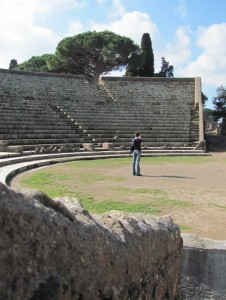 Alone in the arena