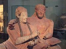Etruscan couple