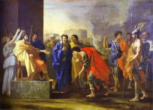 The Continence of Scipio_Poussin