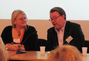 Carole Blake and Simon Taylor