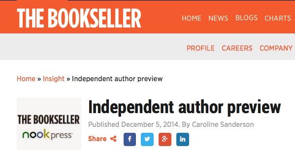 TheBookseller header