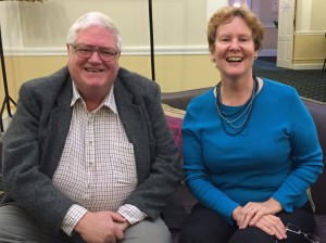 John Jackson and Alison Morton