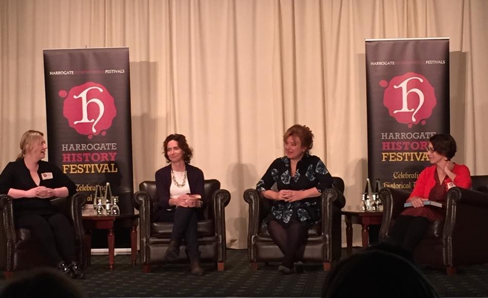 Antonia Hodson, Dr Pamela Cox, Lucy Lethbridge and Tessa Boase