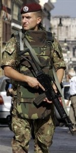 Modern Roma Nova soldier