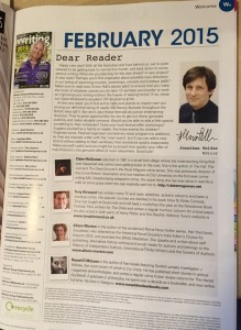 Writing Magazine February 2015_intro