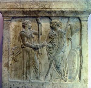 Hera and Athene (5th century BC)