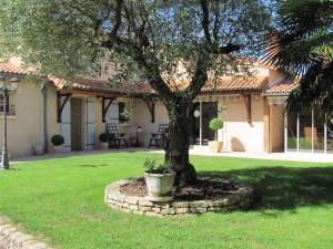 Castra Lucilla private courtyard