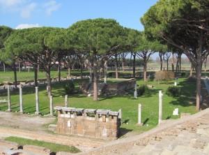 Sacred grove OstiaAntica