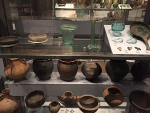Isca domestic pottery