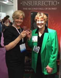 With Helen Hart