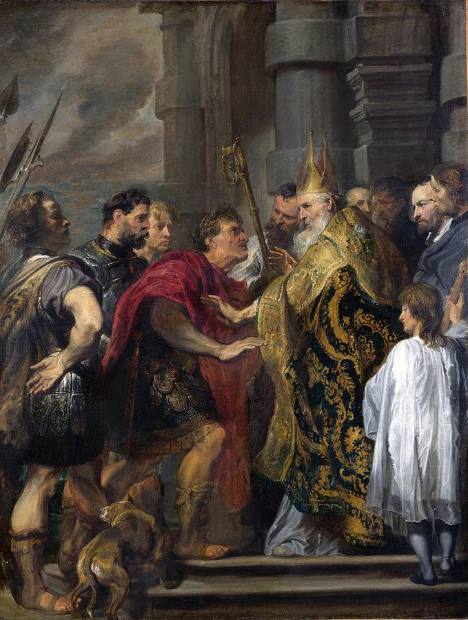 Theodosius and Ambrosius