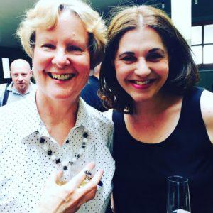 With Anita Chapman