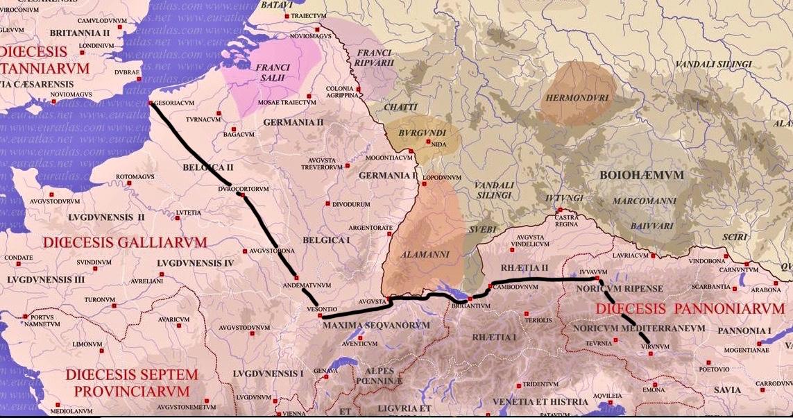 Apulius's journey