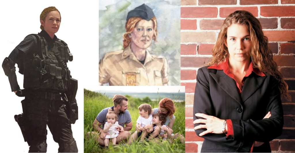 Carina, warrior, councillor and mother