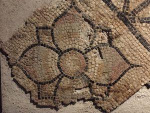 Mosaic flower, 2nd century (Author photo)