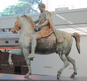 Roman horseman (Author photo)