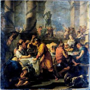 Saturnalia (1783) by Antoine Callet