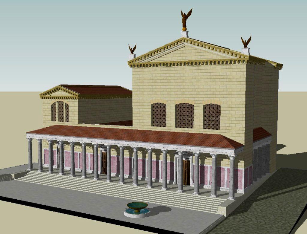 CGI of the Curia Julia by Lasha Tskhondia