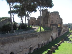 Imperial residence, Palatine, Rome