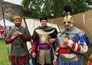 Three rather spiffy late period Romans (AD 400)