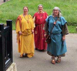 Three Roman ladies