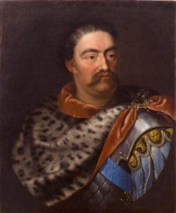 Portrait of John Sobieski, King of Poland