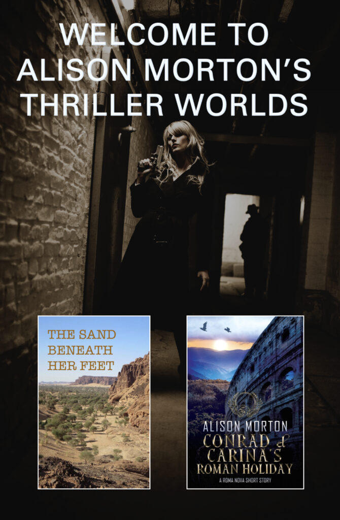 Cover of free book Welcome to Alison Morton's Thriller Worlds