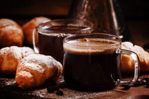 Coffee and cornetti